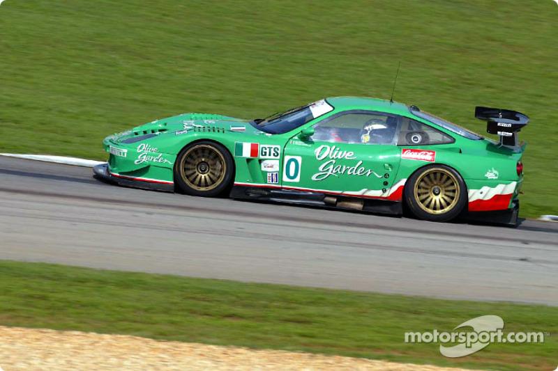 Team Olive Garden Ferrari 550 Maranello: Emanuele Naspetti, Domenico Schiattarella