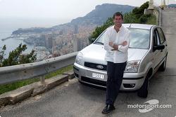 Ralph Firman visits the backroads of Monaco