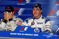 Прес-конференція: володар поулу Ральф Шумахер (Williams BMW) та Кімі Райкконен (McLaren Mercedes)
