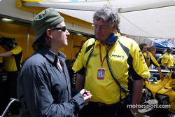 Bono and Gary Anderson