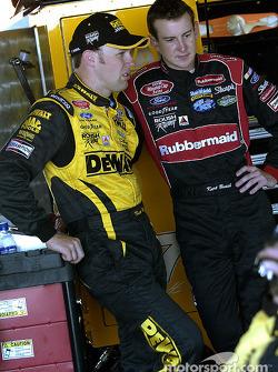 Matt Kenseth and Kurt Busch