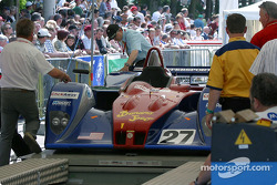 #27 Intersport Racing Field Lola-MG cockpit