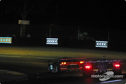 #64 Graham Nash Motorsport Saleen S7-R: Pedro Chaves, Mike Newton, Thomas Erdos, and #6 Champion Racing Audi R8: J.J. Lehto, Emanuele Pirro, Stefan Johansson