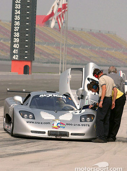 #31 Mosler Automotive Mosler MT900R: Joao Barbosa, Justin Bell