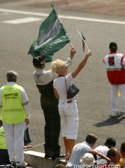 Team Bentley celebrate