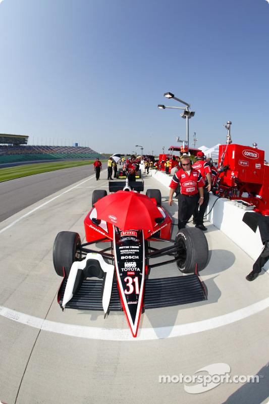 La voiture d'Al Unser Jr.