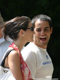 Juan Pablo and Connie Montoya