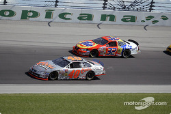 Sterling Marlin and Ricky Craven