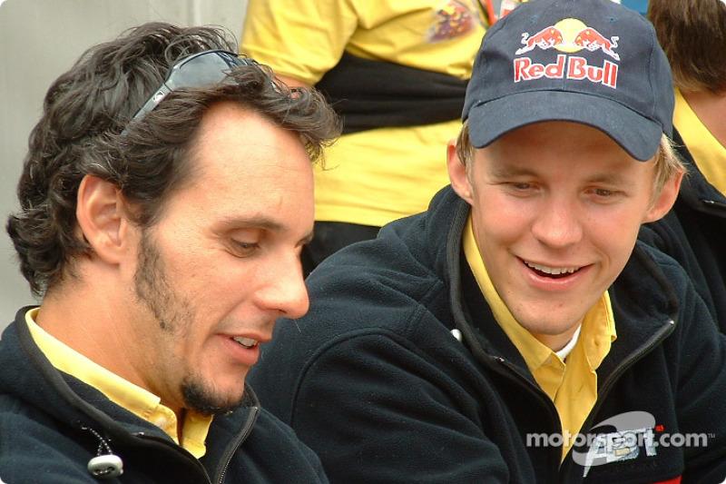 Laurent Aiello and Mattias Ekström