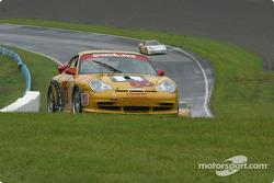 la Porsche GT3 Cup n°66 de l'équipe SpeedSource pilotée par Paul Mears Jr., David Haskel, Shane Lewi