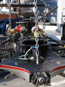 Champion Racing paddock area