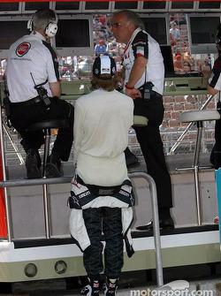 Geoff Willis, Jenson Button and David Richards