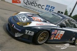 #43 Orbit Racing Porsche 911 GT3 RS: Marc Lieb, Peter Baron