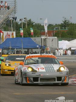 #79 J-3 Racing, Inc. Porsche 911 GT3 RS: Justin Jackson, David Murry