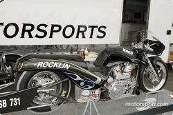 Pro Stock Bike in the paddock