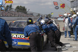 #33 Paul Menard gets a push