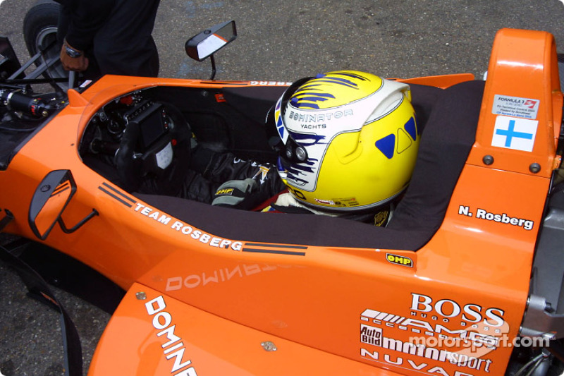 2003: Formel-3-Euroserie im Team Rosberg