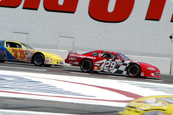 Kevin Harvick and Scott Busby