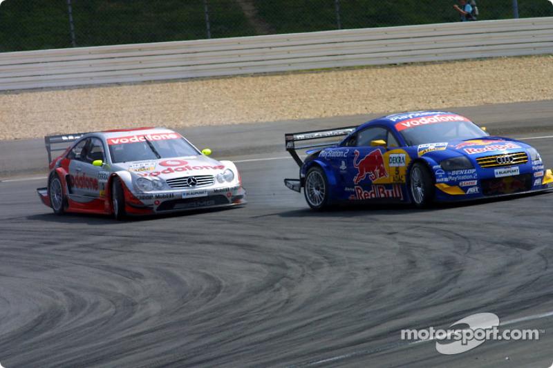 Martin Tomczyk and Bernd Schneider