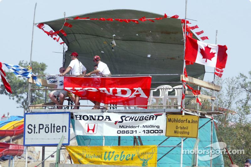 Fanáticos de Honda y el GP de Canadá