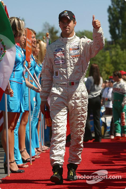 Présentation des pilotes : Tiago Monteiro