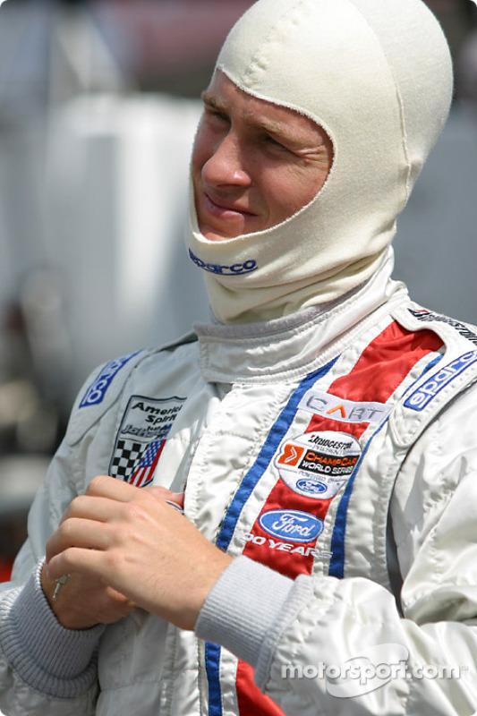 Ryan Hunter-Reay se prépare pour les essais libres