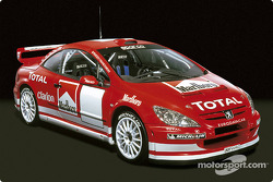 The new Peugeot 307 WRC