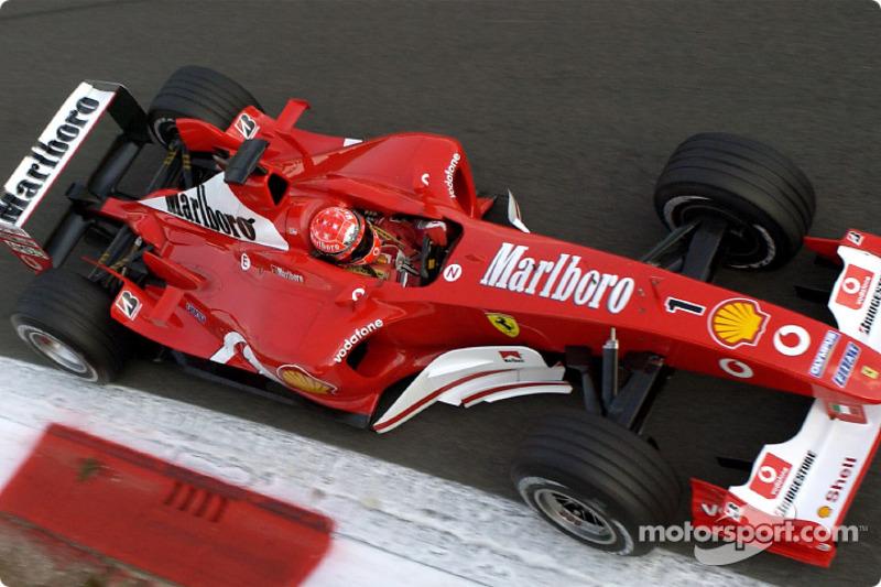 47º: Ferrari F2003-GA (2003)