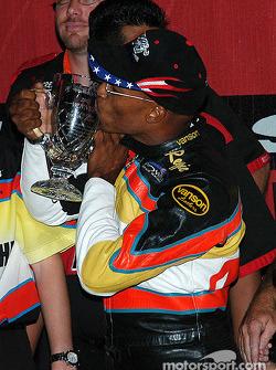 K&N Pro Bike Clash winner Reggie Showers