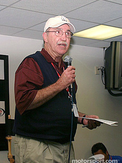 NASCAR's Director of Communications Jim Hunter discusses the incident between Harvick and Rudd indic