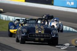 #555 1957 Corvette