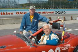 Dick Powers and his MGA MkII