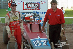 Bud Kaeding drove the Zarounian Motorsports entry to victory lane in Sunday's O'Reilly Tulsa 100 USAC Weld Racing Silver Crown Series event