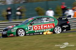 John Bowe during qualifying