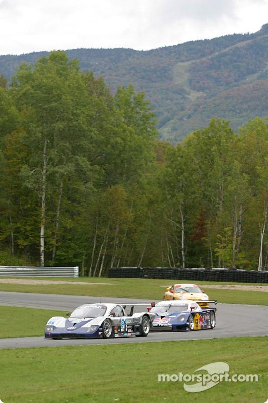 #54 Bell Motorsports Chevrolet Doran: Terry Borcheller, Forest Barber, Andy Pilgrim, et #58 Brumos R