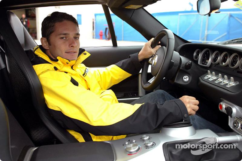 Giancarlo Fisichella y el Ford GT40
