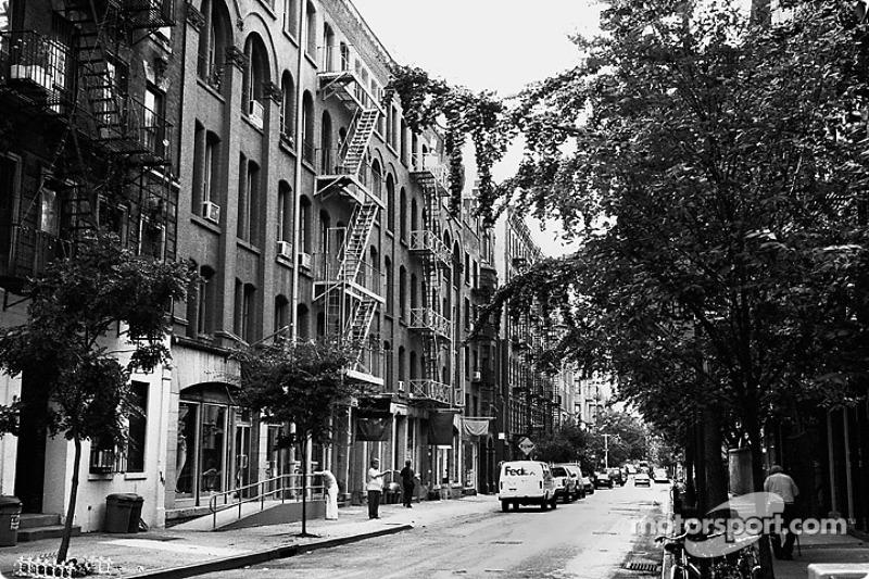 Aspectos de las calles de la ciudad de New York