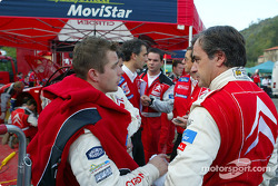 Sébastien Loeb and Carlos Sainz