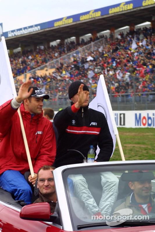 Drivers presentation: Karl Wendlinger and Martin Tomczyk