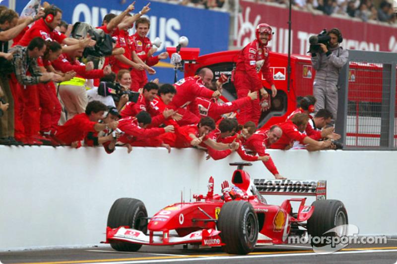 2000 – 2004: Dikuasai Ferrari