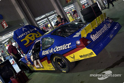 New paint scheme for Ricky Rudd's car