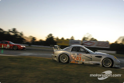 La Panoz Esperante GT-LM Elan n°03 de l'équipe Hyper Sport pilotée par Joe Foster, Brad Nyberg, Rick Skelton