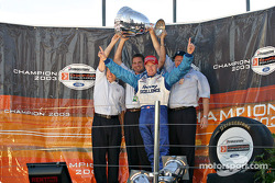 Podium : Paul Tracy, champion de ChampCar 2003