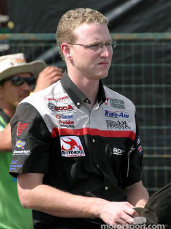 Revolution Motorsports crew member