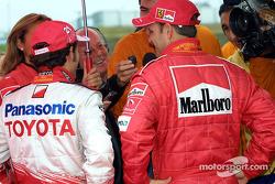 Cristiano da Matta and Rubens Barrichello