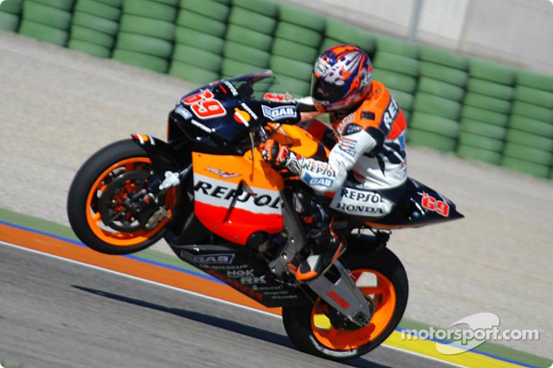 2003. Nicky Hayden - Gran Premio del Giappone - 7º