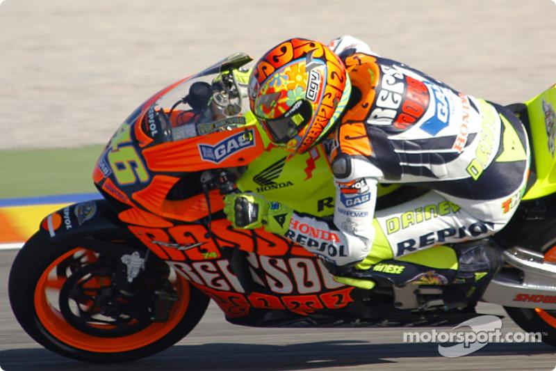 2003 - Valentino Rossi, Repsol Honda Team