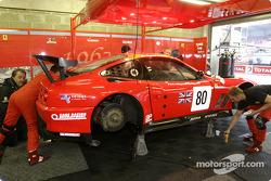 Veloqx Care Racing Racing garage area
