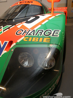 Detail of the 1991 Mazda 787 B