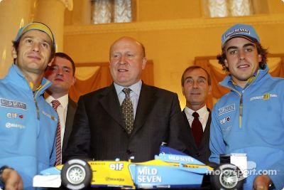 Renault F1 en Moscú